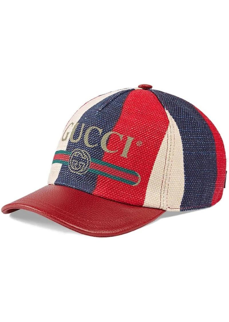 Gucci Print Sylvie baseball hat