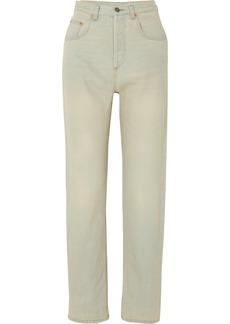 Gucci Printed High-rise Straight-leg Jeans