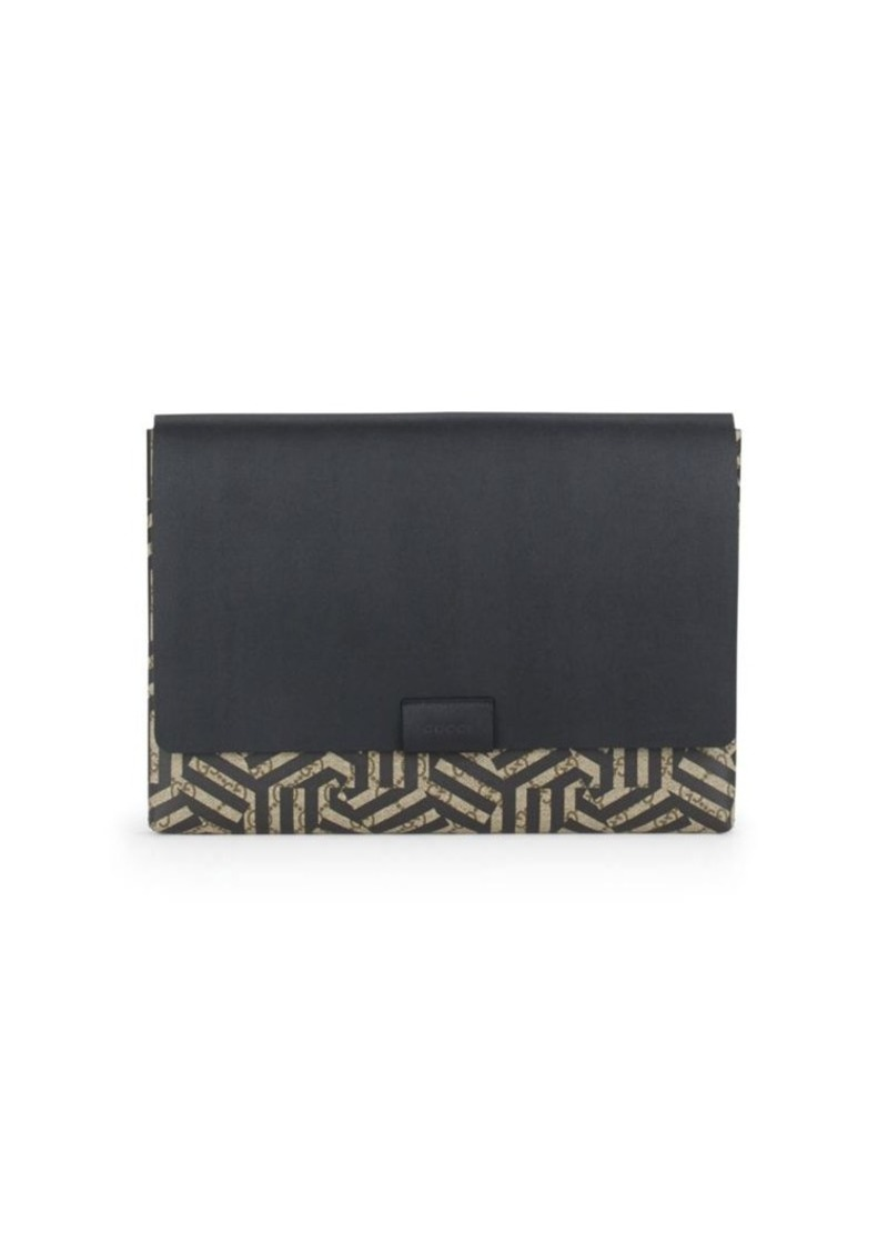 Gucci Printed Leather Wallet