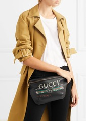 c642eaa2b Gucci Gucci Printed textured-leather belt bag | Handbags