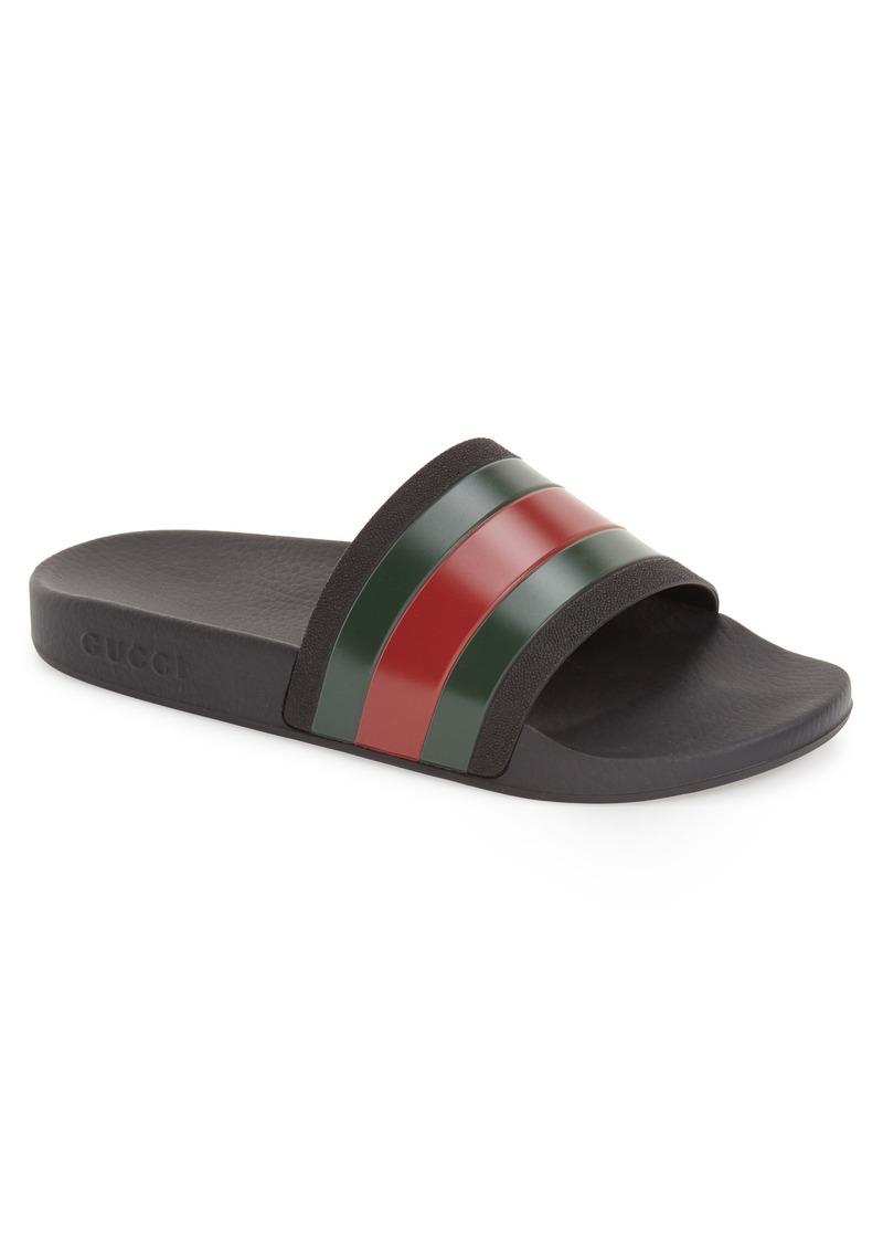 Gucci Gucci Pursuit 72 Sport Slide Men Shoes