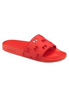 Gucci Pursuit GG Logo Slide Sandal (Men)