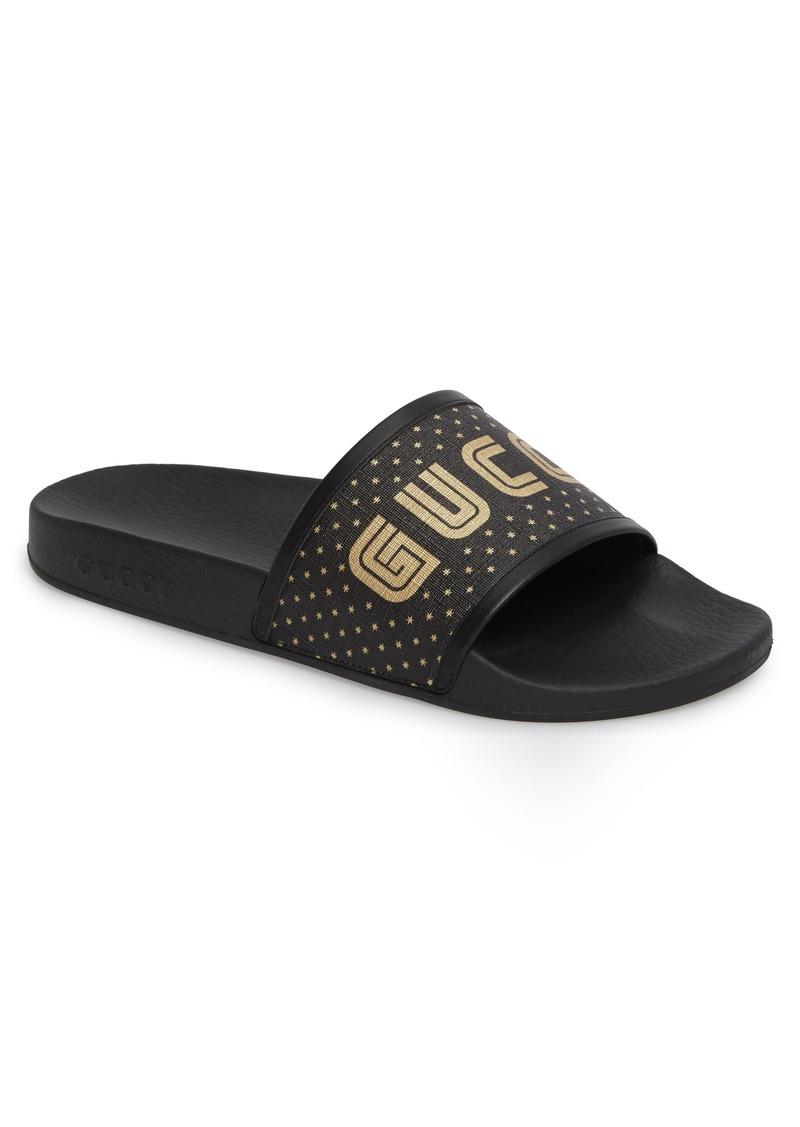 a5b32e1c41a8c Gucci Gucci Pursuit Slide Sandal (Men)