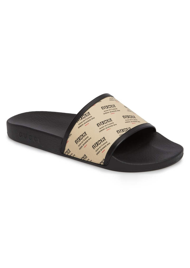 1f21aca8f32bd Gucci Gucci Pursuit Invite Slide Sandal (Men)