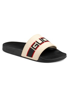 Gucci Pursuit Stripe Slide Sandal (Men)
