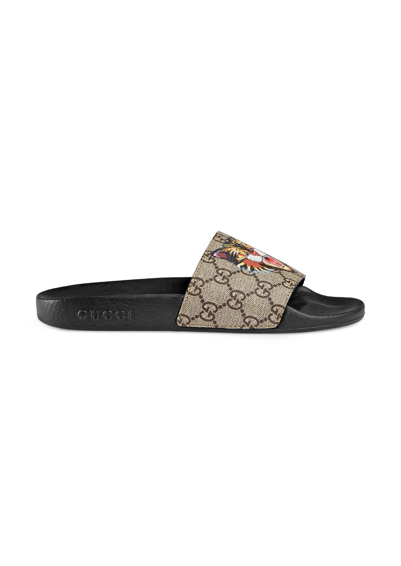 Gucci Gucci Pursuit Tiger Print Slide Sandal (Women)