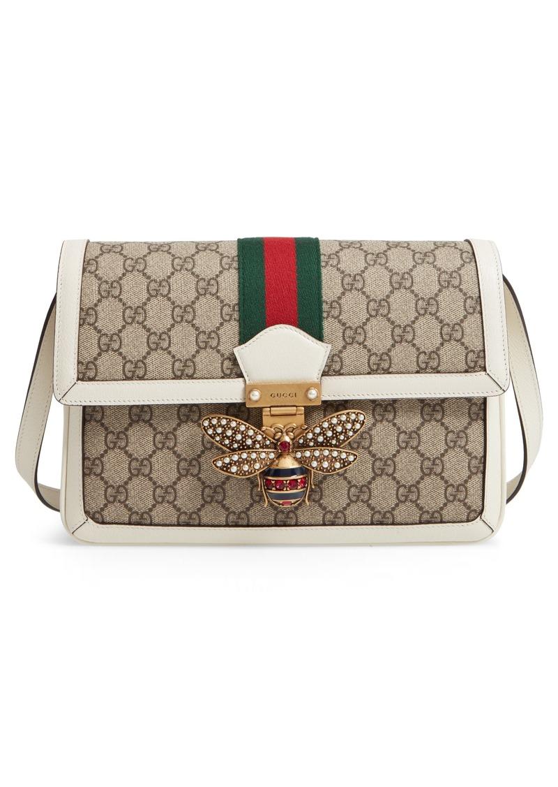 5868ca32a4 Queen Margaret GG Supreme Small Crossbody Bag