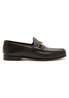 Gucci Quentin leather loafers