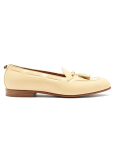 Gucci Quentin tassel leather loafers