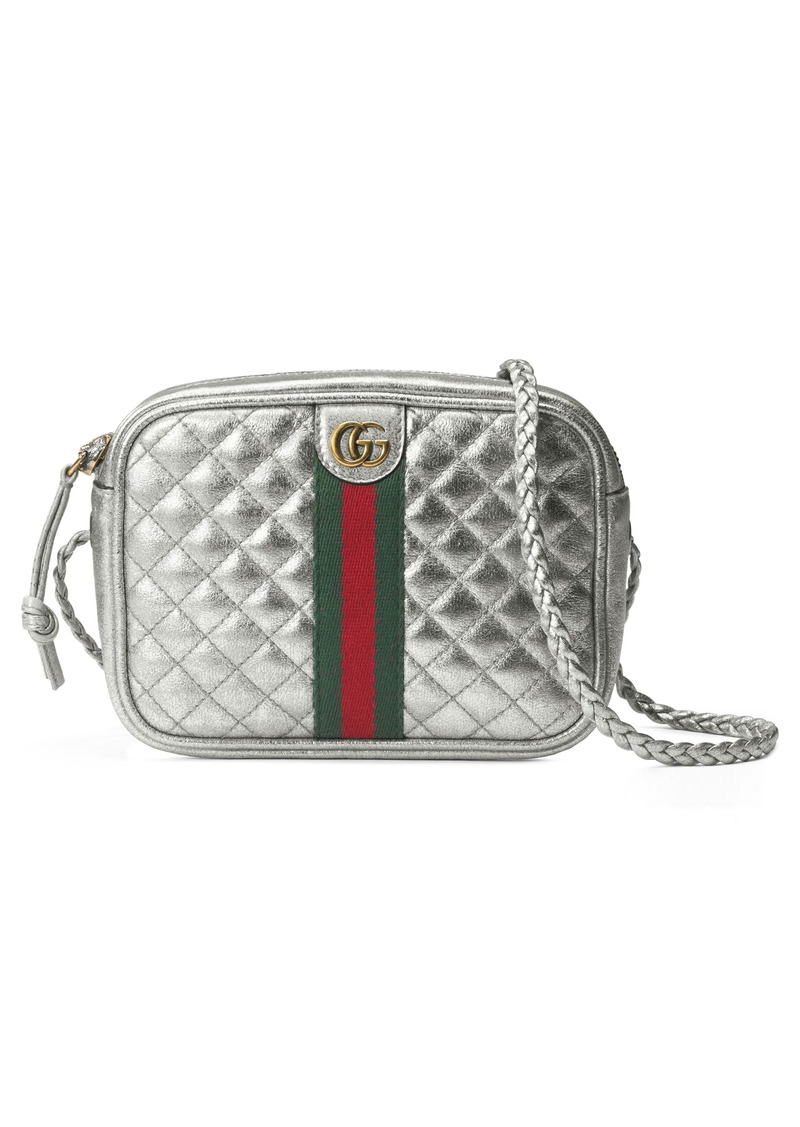 aa23120e2933 Gucci Gucci Quilted Metallic Leather Crossbody Bag | Handbags