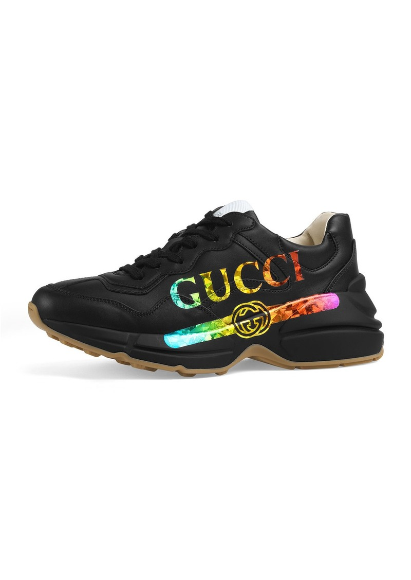 7d8d944950d Gucci Gucci Rainbow Gucci Chunky Sneakers