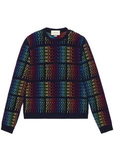 "Rainbow ""Gucci Hollywood"" sweater"