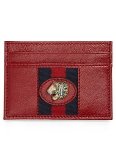 Gucci Rajah Leather Card Case