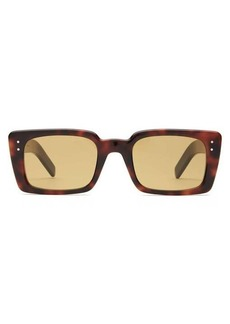 Gucci Rectangle tortoiseshell-acetate sunglasses
