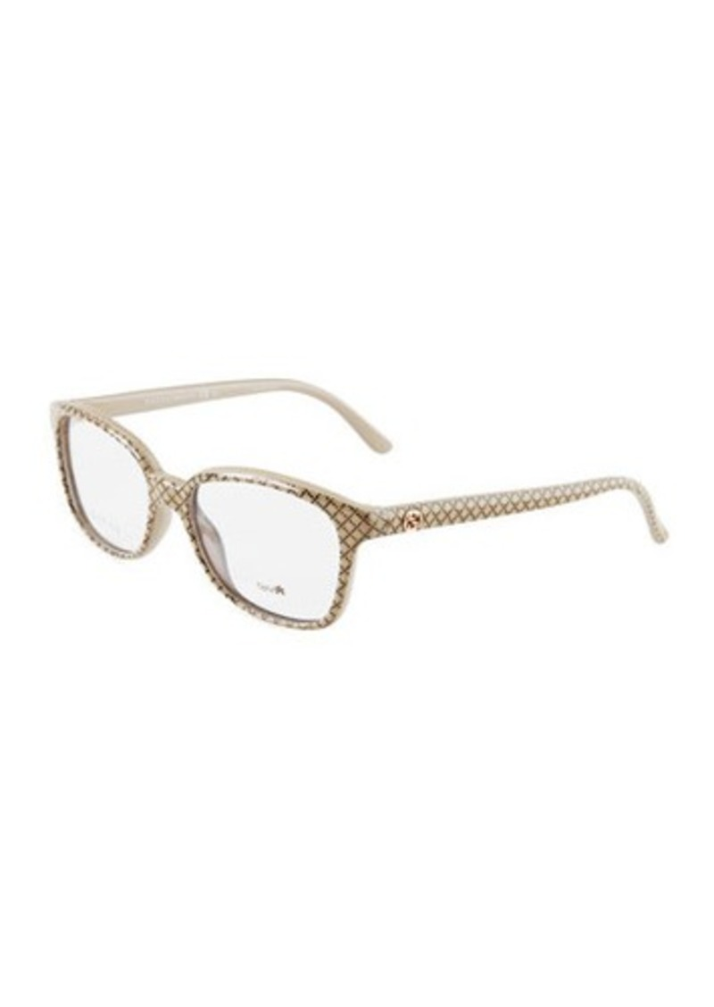 Gucci Gucci Rectangular Optyl® Acetate Frames   Misc Accessories