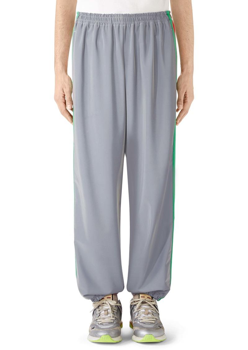 Gucci Reflective Jersey Jogging Pants