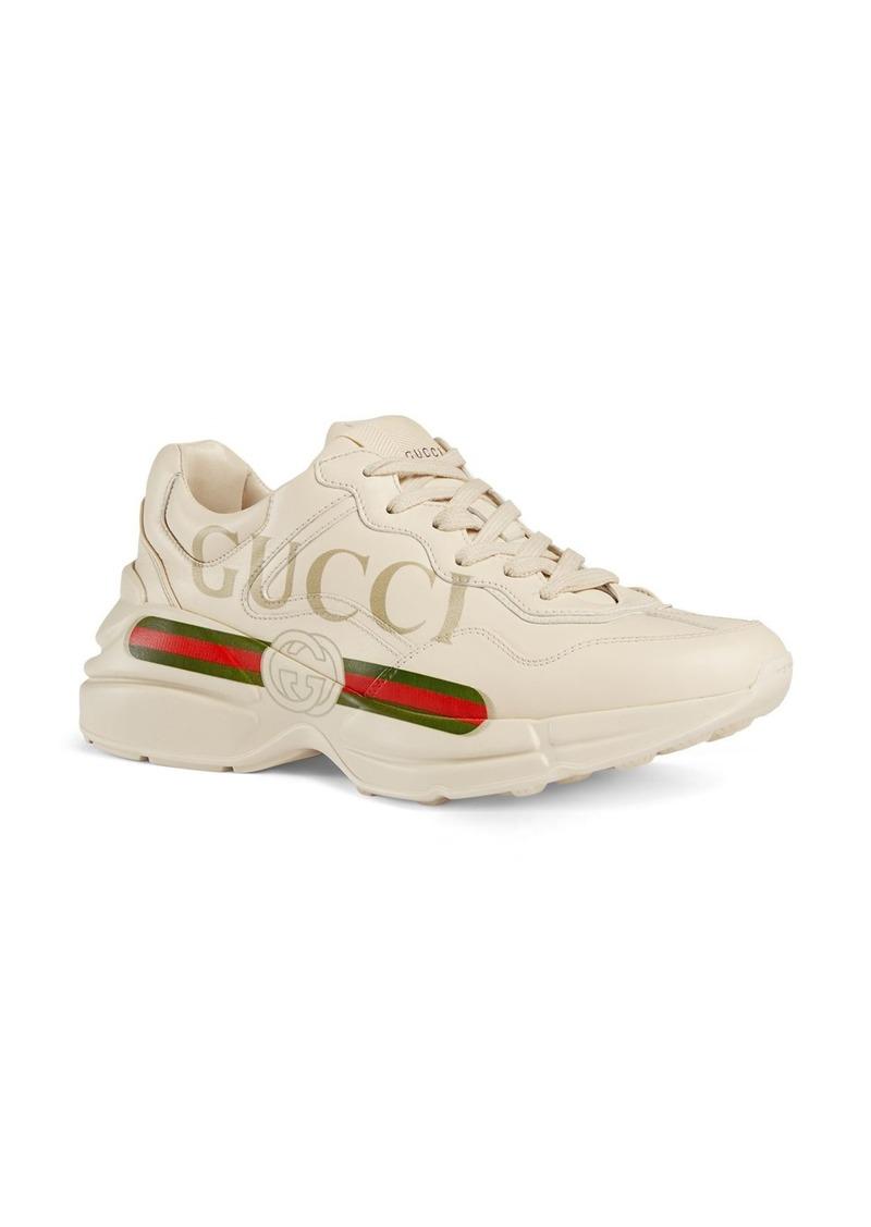 Gucci Rhyton Logo Sneaker (Women)