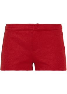 Gucci Ribbed knit-trimmed tech-jersey shorts