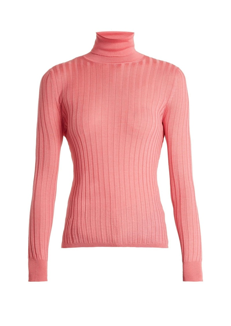 8cda07afd Gucci Gucci Roll-neck ribbed-knit sweater   Sweaters