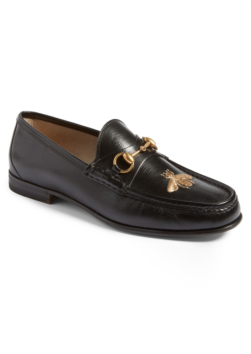 ac400ec45 Gucci Gucci Roos - Bee Loafer (Men) | Shoes