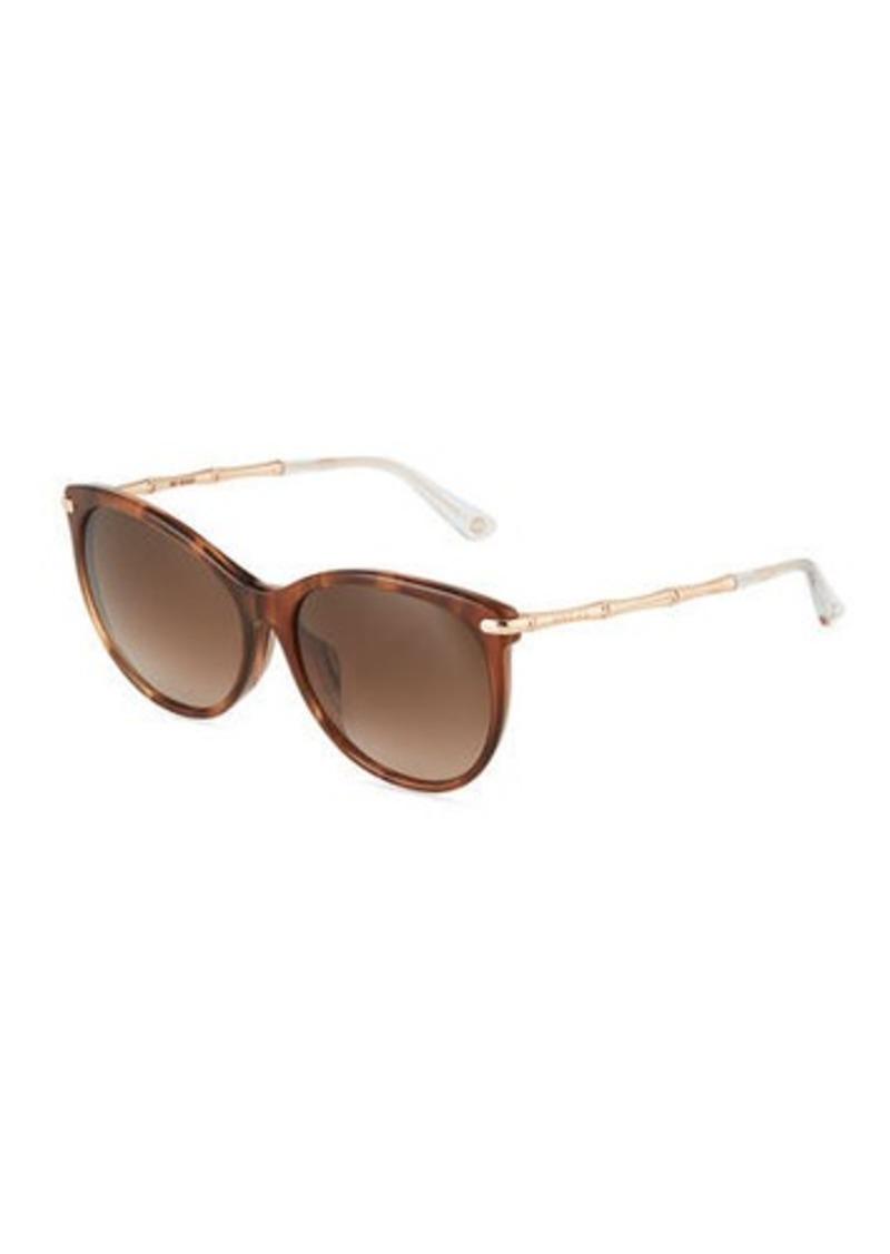 7fa2bd63826bb Gucci Gucci Round Cat-Eye Combo Sunglasses