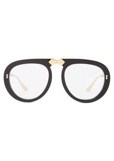 Gucci Round-frame foldable sunglasses