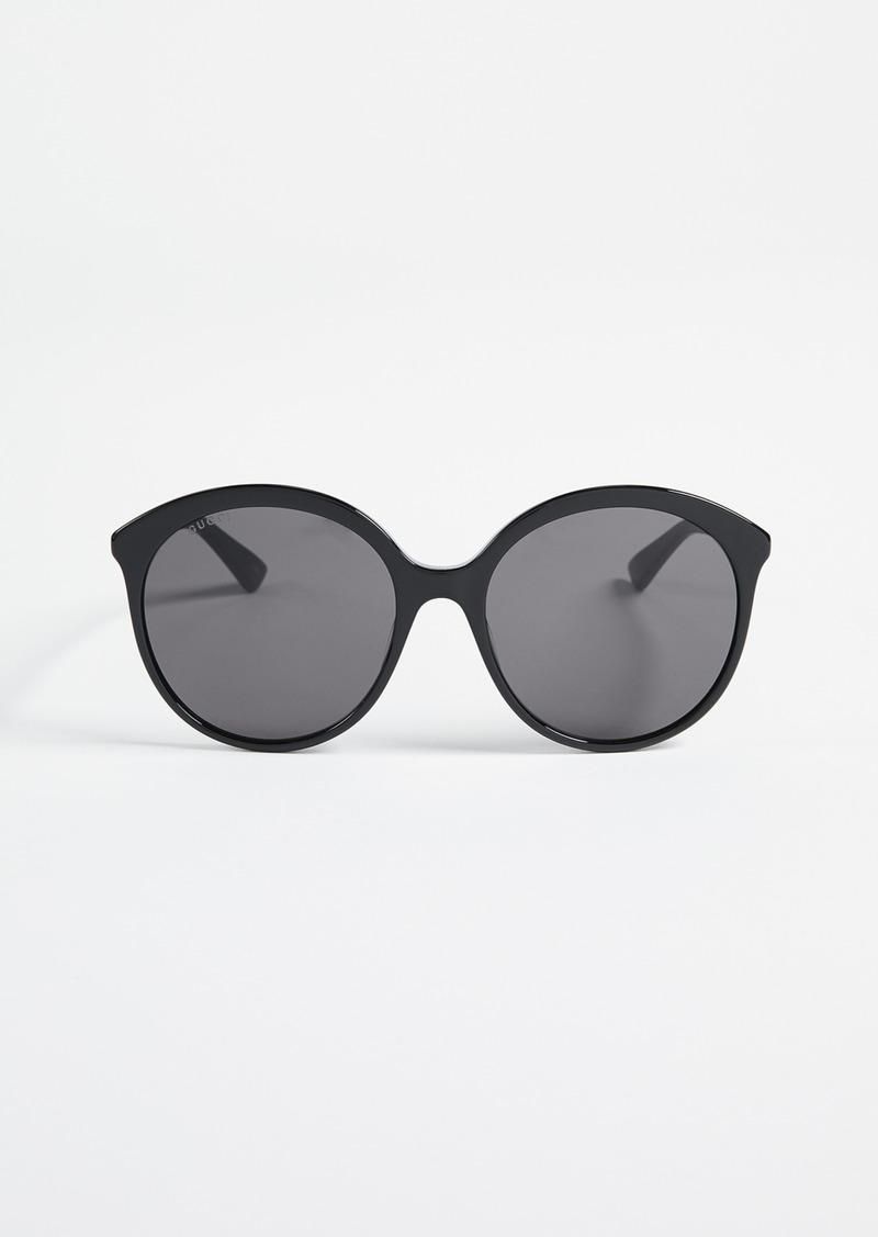 02039265bc Gucci Gucci Round Monocolor Sunglasses