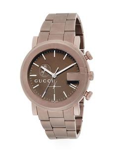 Gucci G Chrono PVD Bracelet Watch