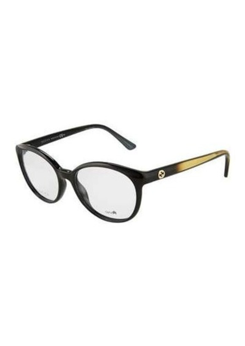 9af84074d7 Gucci Gucci Round Two-Tone Optical Glasses