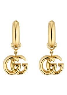 Gucci Running Drop Earrings