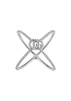 Gucci Running G Diamond X Ring