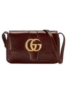 Gucci Running Genuine Python Small Shoulder Bag