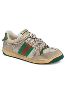 Gucci Screener Jewel Sneaker (Men)