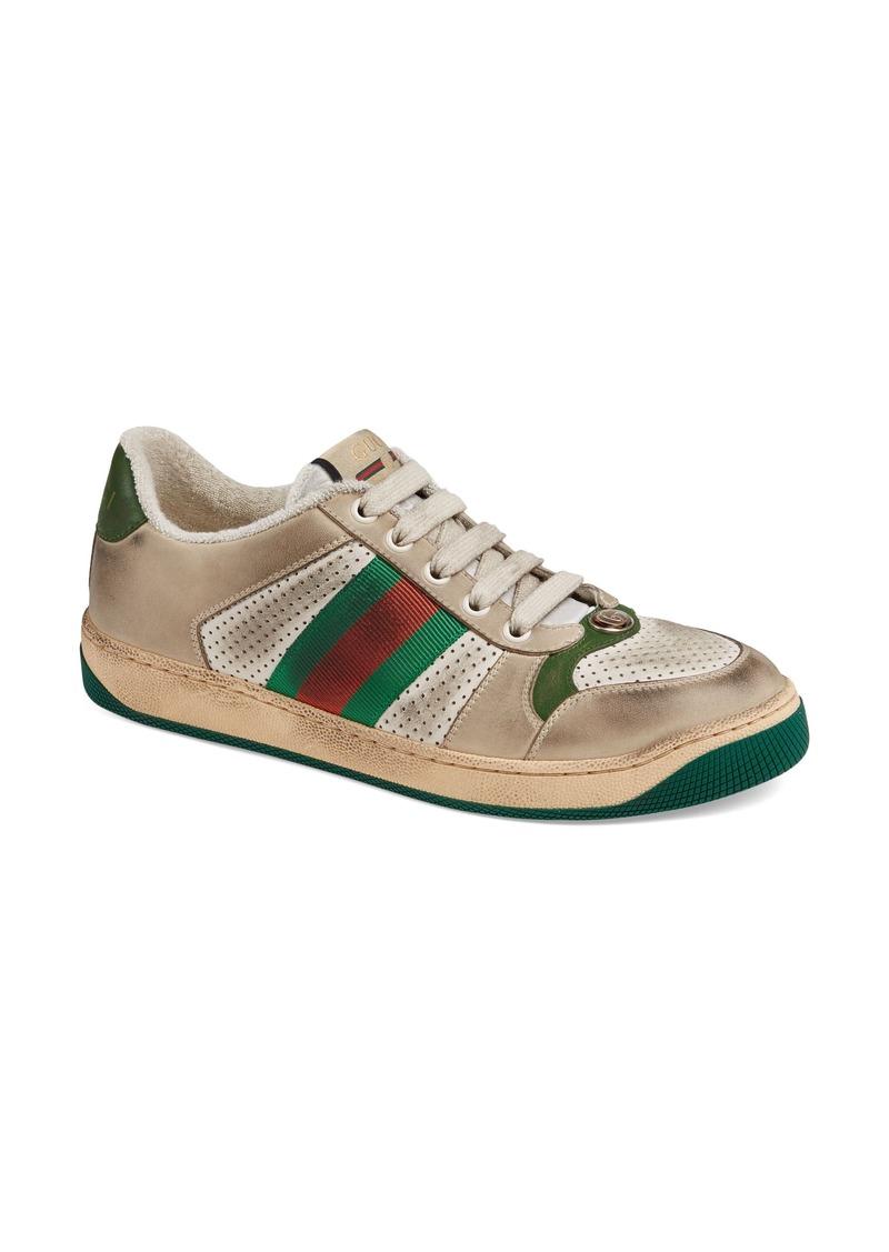 Gucci Screener Low Top Sneaker (Women)