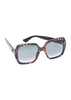 Gucci Sensual Romanticism Square Sunglasses