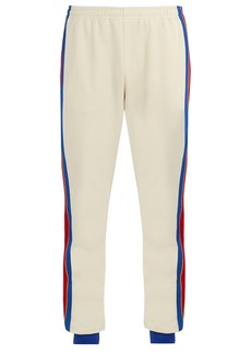 Gucci Side-stripe track pants