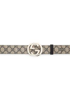 Gucci Signature Canvas Belt