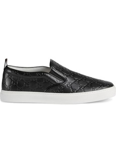 Gucci Signature slip-on sneakers