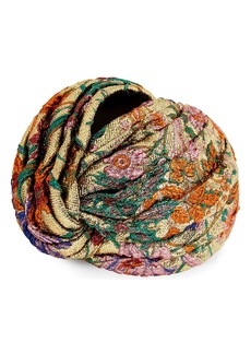 Gucci Situation Floral Jacquard Turban