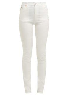 Gucci Slim-fit high-rise jeans