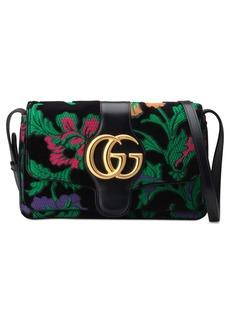 Gucci Small Arli Floral Chenille Jacquard Shoulder Bag