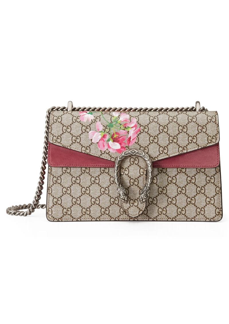 5e6ecf541e2a Gucci Gucci Small Dionysus Floral GG Supreme Canvas Shoulder Bag ...