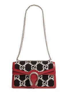 Gucci Small Dionysus GG Tweed Shoulder Bag