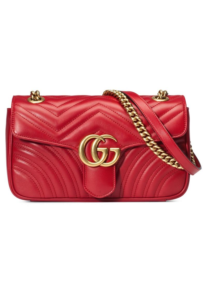 Gucci Small Matelassé Leather Shoulder Bag