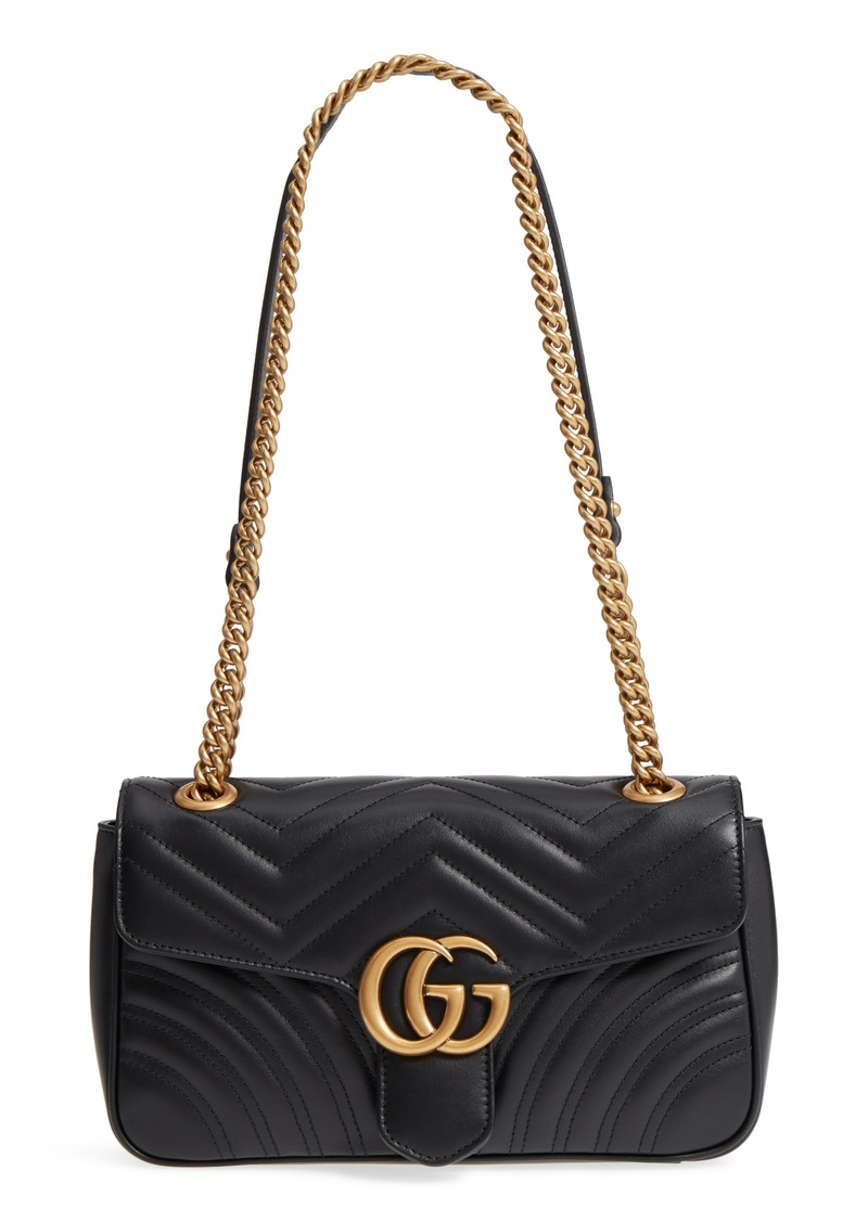 9bccfeccfc5b Gucci Gucci Small GG Marmont 2.0 Matelassé Leather Shoulder Bag ...