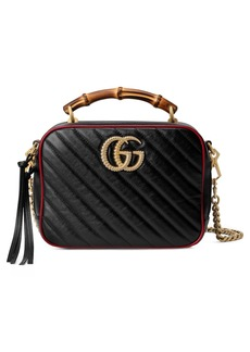 Gucci Small GG Marmont 2.0 Quilted Leather Shoulder Bag