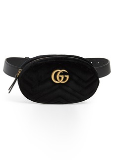 Gucci Small GG Marmont 2.0 Velvet Belt Bag