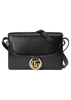 Gucci Small GG Ring Leather Shoulder Bag