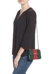 7df300e0b3dbc8 Gucci Gucci Small Linea Cestino Glazed Wicker Shoulder Bag | Handbags