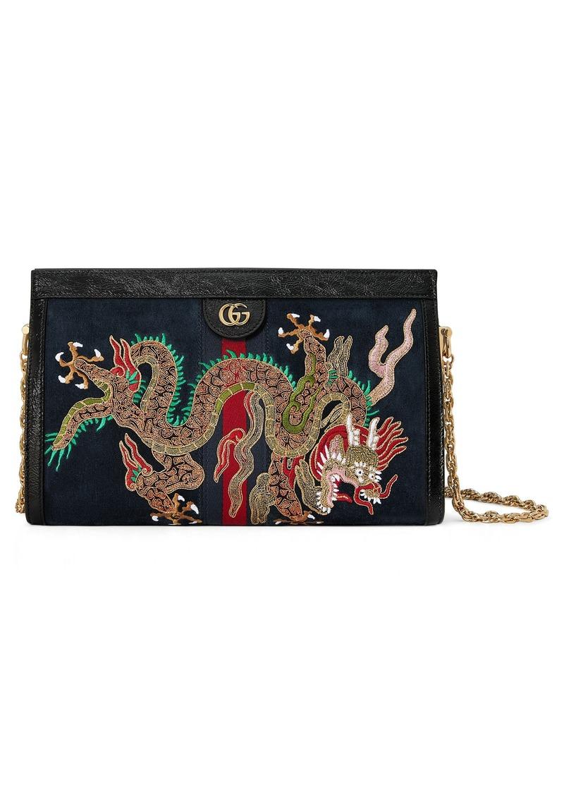 9b9b0b014e9 Gucci Gucci Small Linea Dragon Chain Shoulder Bag